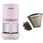 Cuisinart 4 Cup Coffee Maker Pink