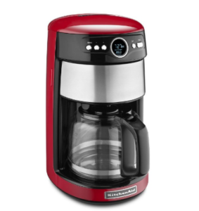 red kitchenaid coffee maker